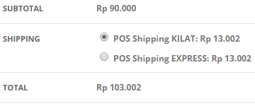 WooCommerce POS Shipping